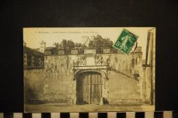 CP, 86, POITIERS Ecole Normale D'Instituteurs Porte D'entrée N° 78 Voyagé En 1909 - Poitiers