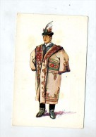 Carte Costume  Paysan Matyo - Croatia