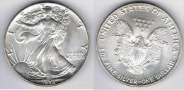 EE.UU. USA OUNCE DOLLAR 1988 PLATA SILVER C1 - Otros