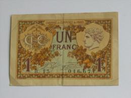 Chambre De Commerce De Paris - 1 Franc **** EN ACHAT IMMEDIAT **** - Handelskammer