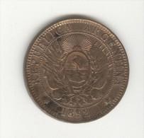 2 Centavos Argentine / Argentina 1892 - Argentina