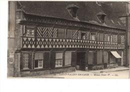 76-----SAINT VALERY EN CAUX---maison Henri IV---voir 2 Scans - Saint Valery En Caux