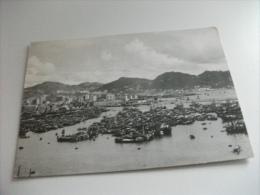 HONG KONG A VIEW OF THE BAY - Chiatte, Barconi