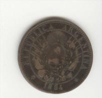 2 Centavos Argentine / Argentina 1884 - Argentine