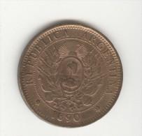 2 Centavos Argentine / Argentina 1890 TTB+ - Argentinië