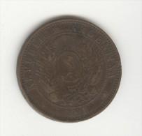 2 Centavos Argentine / Argentina 1891 - Argentine