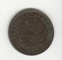 2 Centavos Argentine / Argentina 1890 TTB - Argentinië