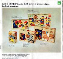 CATALOGUE LEGO Duplo - Catalogues