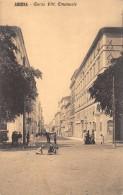"01766 ""ANCONA - CORSO VITTORIO EMANUELE""  ANIMATA. CART. ORIG. SPEDITA 1911 - Ancona"