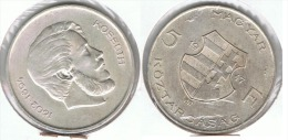 HUNGRIA 5 FLORINT 1947 PLATA SILVER - Hungría