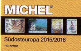 MICHEL Südost-Europa 2015/2016 Katalog New 66€ Part 4 Southeast-Europe Stamp Ägäis Kreta Kroatien SRB BG GR RO TR Cyprus - Documentos Antiguos