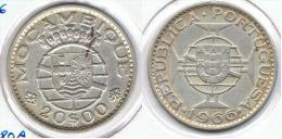 MOZAMBIQUE 20 ESCUDOS 1966 PLATA SILVER C52 - Mozambique