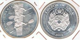 TONGA PANGA 2004 PLATA SILVER - Tonga
