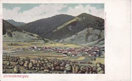 AK Unterammergau - Panorama - Ca. 1910 (15675) - Garmisch-Partenkirchen