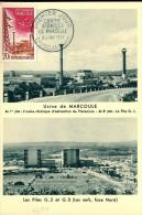CM Centre Atomique De Marcoule - Chusclan (30) - 23 Mai 1959 - Maximum Cards