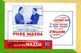 BUVARD & Blotting Paper  :Piles MAZDA  M. Tavvernier Amiens - Electricité & Gaz