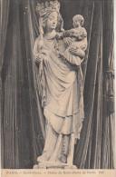 CPA Paris, Notre Dame, Statue De Notre Dame De Paris (pk19746) - Notre Dame De Paris