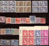 DENMARK Selection (40) 1920-73+Bob M+U #DV2 - Dinamarca