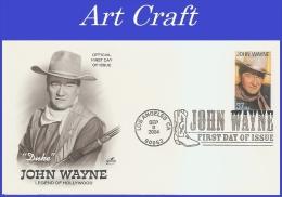 USA #3876 U/A ARTCRAFT FDC   John Wayne - 2001-2010