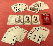 Bridge - Poker - Canasta , Kartenspiel Von Pall Mall  -  Komplett Mit 54 Spielkarten - Denk- Und Knobelspiele