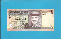 JORDAN - 1/2 DINAR - 1993 - P 23.b - UNC. - Sign. 19 - King Hussein - 2 Scans - Jordanie
