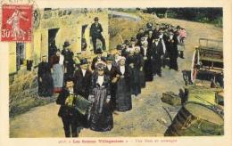 Les Scènes Villageoises - Une Noce En Montagne (Savoie) - Carte Lema Colorisée - Marriages
