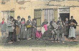 Les Scènes Villageoises - Baptême Bressan (Ain) - Edition L. Ferrand - Carte Colorée Non Circulée - Europe