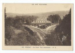 Figeac - La Gare - Vue Intérieure - Figeac