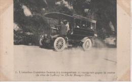 LAFFREY ( Course De Cote Automobile CARTE RARE ° - Laffrey