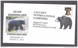 6.- 001 UNITED STATES OF AMERICA 2013. BLACK BEAR. URSUS - Ours