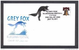 UNITED STATES OF AMERICA USA 2011. GREY FOX. Renard Gris D´Amérique (Urocyon Cinereoargenteus) - Autres
