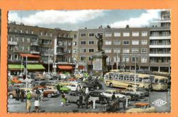MNL-06  Dunkerque Nord Place Jean-Bart. Car Postal  Circulé. - Dunkerque