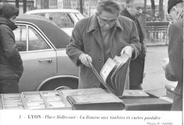 Lyon - Place Bellecourt - La Bourse Aux Timbres Et Cartes Postales - Photo Hamm N°1 - Ed. Panthéon Des Collectionneurs - Bourses & Salons De Collections