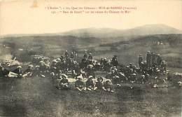 """- Aveyron -ref-A278- Mur De Barrez - L Estibo -"""" Bains Du Lezard """" Sur Les Ruines Du Chateau De Mur - Carte Bon Etat - - France"""