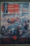 ACTION AUTOMOBILE TOURISTIQUE - JUILLET 1950- COUVERTURE N° SPECIAL COURSES- REIMS 37 E GRAND PRIX DE L´ ACF - Auto/Moto