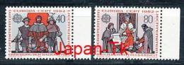 """LIECHTENSTEIN  Mi.Nr. 791-792 EUROPA CEPT """" Historische Ereignisse"""" 1982 - MNH - Europa-CEPT"""