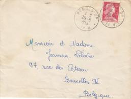 France - Lettre De 1959 - Oblitération Rennes - France