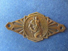 Ancienne Plaque De Voiture St. CHRISTOPHE - France