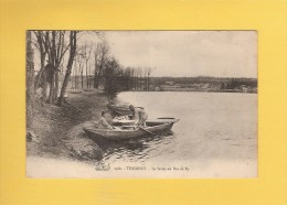 * CPA..dépt 77..THOMERY :  La  Seine Au Bas De By..n°1980   : Voir Les 2 Scans - Frankreich