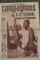 69- LYON- 03- VICHY- HEBDO COMPAGNONS FRANCE-SCOUTISME-CHANTIERS JEUNESSE-PETAIN- 1941-N° 39-EMPIRE-PLATON-COLONIES - Storia