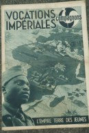 69- LYON- 03- VICHY- RARE HEBDO COMPAGNONS FRANCE-SCOUTISME-CHANTIERS JEUNESSE-PETAIN- VOCATIONS IMPERIALES-1942 N° 83 - Storia