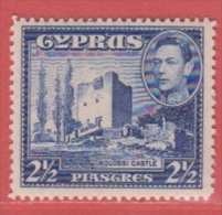 1938 ** (sans Charn., MNH, Postfrish)   Yv  139   Mi  145 SG 156 - Zypern (Republik)