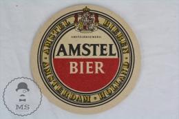 Vintage 1960´s  Advertising Amstel Bier Holland Beer Coaster/ Beer Mats - Portavasos