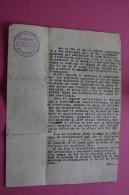 JULIO 1946 COOPERATIVA DE PRODUCTORES  ALICANTE CANTERO ESPANA ESPAGNE DOCUMENTO HISTÓRICO CERTIFICADO DE TRABAJO - Documentos Históricos