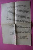 ORDEN CICULAR 1947 COOPERATIVA DE PRODUCTORES  ALICANTE CANTERO ESPANA ESPAGNE DOCUMENTO HISTÓRICO - Documentos Históricos