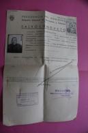 1948 SALVO CONDUCTO GOBIERNO DIRECCION DE MARRUECOS Y COLONIAS  ESPANA ESPAGNE DOCUMENTO HISTÓRICO +VIGNETTE VISA ENTRAD - Documentos Históricos