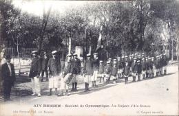 Aïn Bessem - Société De Gymnastique . Les Enfants D´Aïn Bessem - Algerije