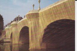 CPSM PARIS PONT NEUF EMPAQUETE CHRISTO PARIS 1975  1985 NOUVELLES IMAGES - Bridges