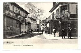 CHAMONIX (74) - Rue Nationale - Sans éditeur - Chamonix-Mont-Blanc