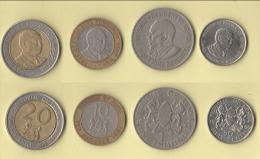 Kenya Kenia  4 Monete - Kenia